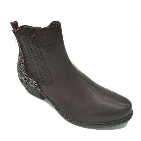 Bugatti Bordo Leather Western Ankle Boots