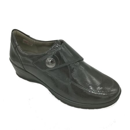 Jenny Ara Cremona Dark Grey Comfort Shoes