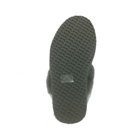 Ara Eva Metallic Lambskin Mule Slippers