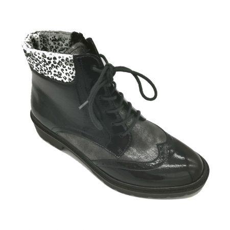Jenny Ara Portland Navy Brogue Boots