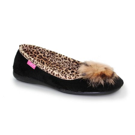 4e2f11883 Lunar Brooks Black Velvet Slippers