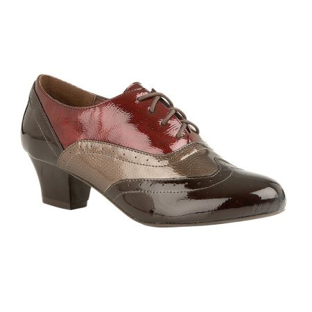 Lotus Platte Brown Multi Brogue Shoes