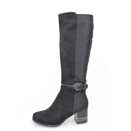 Lunar Tamsin Black Knee High Boots