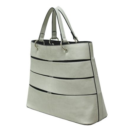 Envy Light Stone Grey Large Handbag