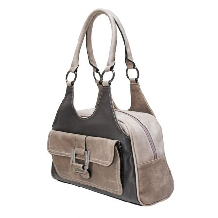 Envy Bella Taupe Brown Multi Handbag