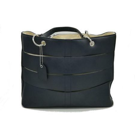 Envy Dark Navy Blue Large Handbag