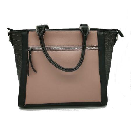 Envy Pink Large Structured Handbag