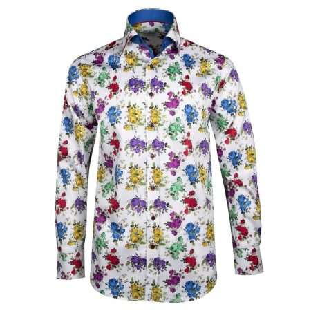 Claudio Lugli Multi Coloured Shirt