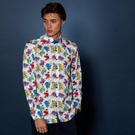 Claudio Lugli Multi Coloured Shirt