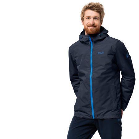 Jack Wolfskin Chilly Morning Night Blue Jacket