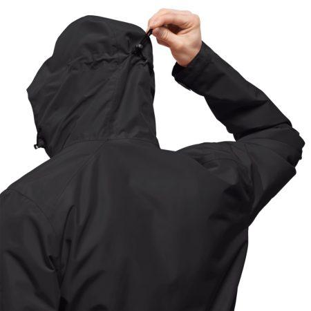 Jack Wolfskin Chilly Morning Black Jacket