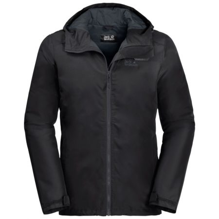 Jack Wolfskin Chilly Morning Black Jacket