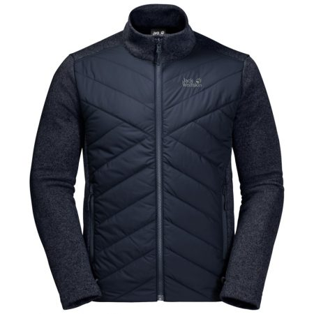 Jack Wolfskin Night Blue Caribou Crossing Track Jacket