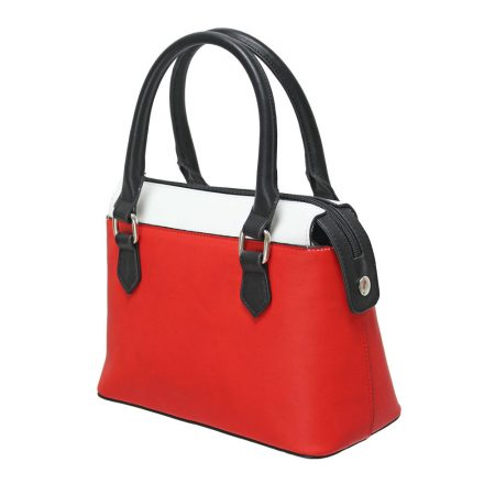 Envy Red White Small Handbag