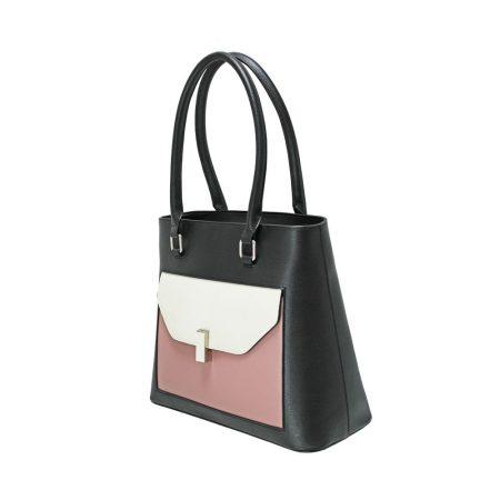 Envy Black Blush Large Handbag