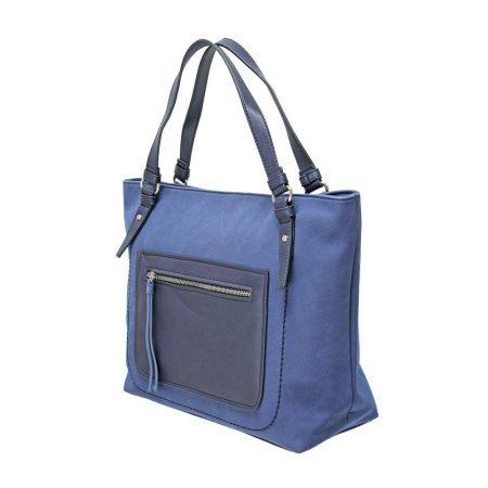 Envy Large Navy Shoulder Bag