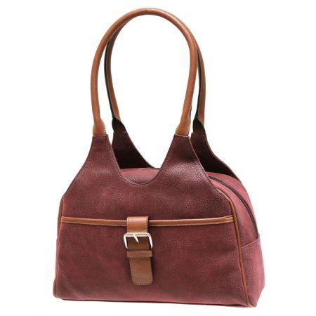 Envy Juniper Burgundy Medium Handbag