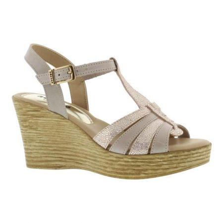 Adesso Sophie Rose Leather Wedges