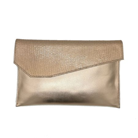 Capollini Luanne Rose Gold Clutch