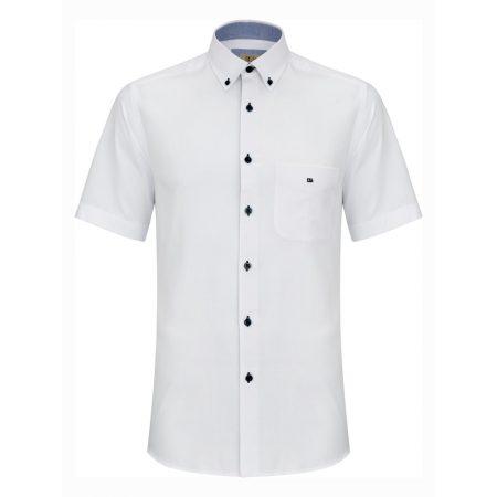 Drifter white short sleeve shirt