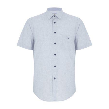 Drifter Blue Short Sleeve Shirt
