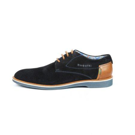 Bugatti navy suede shoe