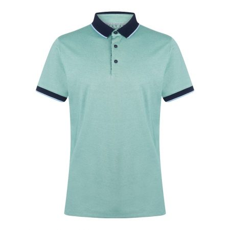 Remus Uomo Green Polo Shirt