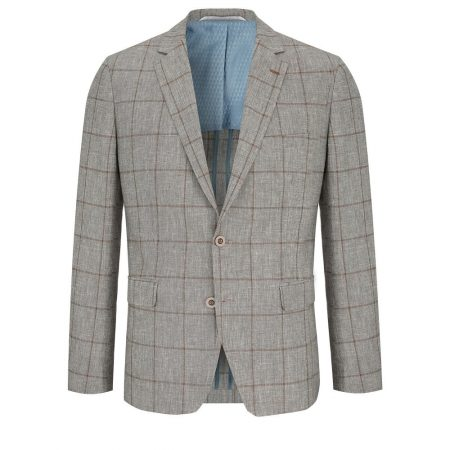 Douglas Natural Linen Mix Jacket