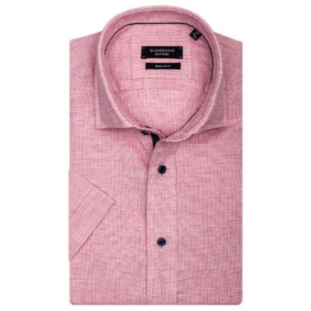 Giordano Pink Short Sleeve Shirt