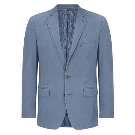 douglas light blue cotton jacket