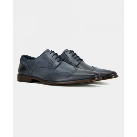 Remus Uomo Blue Leather Shoe