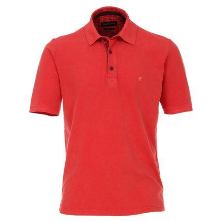 Casa Moda Coral Polo Shirt