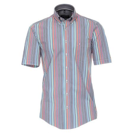 Casa Moda multi coloured stripe shirt