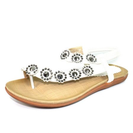Lunar Charlotte White Sandals