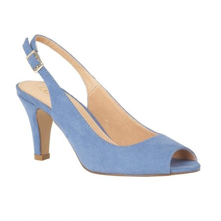 Lotus Zaria Cornflower Blue Shoes