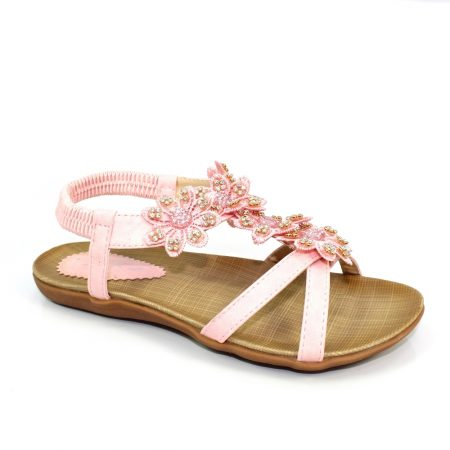 Lunar Kids Fiji Pink Sandals
