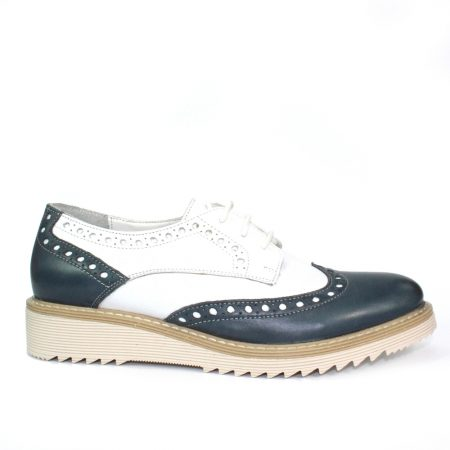 Lunar Embry Leather Brogues