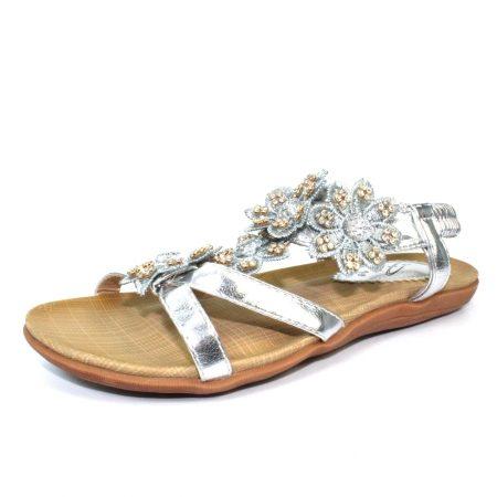 Lunar Fiji Silver Gem Sandals