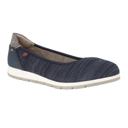 Lotus Relife Georgette Navy Shoes
