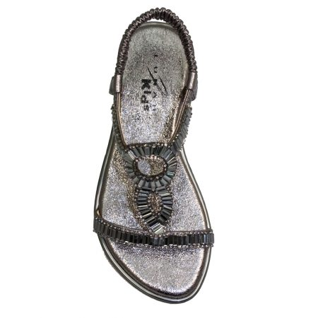 Lunar Kids Samantha Pewter Sandals