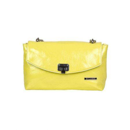 Bulaggi Lime Patent Handbag