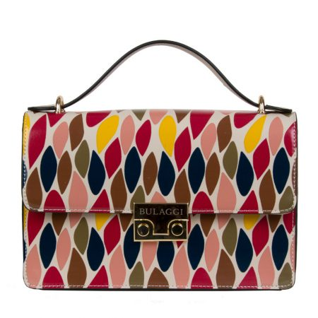 Bulaggi Red Print Handbag
