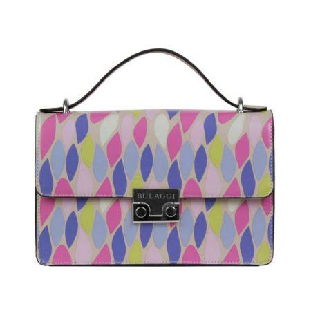 Bulaggi Lilac Print Handbag