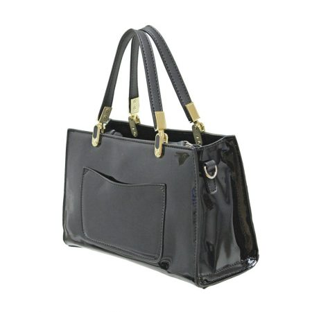 Envy Black Patent Handbag