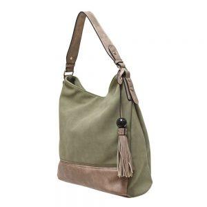 Envy Large Khaki Handbag