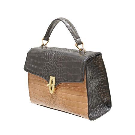 Envy Black Snake Handbag