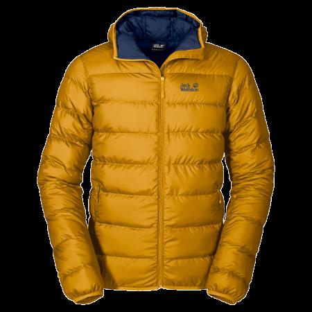 Jack Wolfskin Helium Men Jacket - Golden Yellow