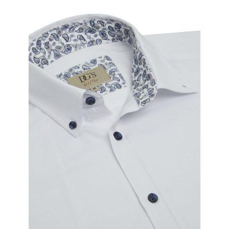 Drifter white casual shirt