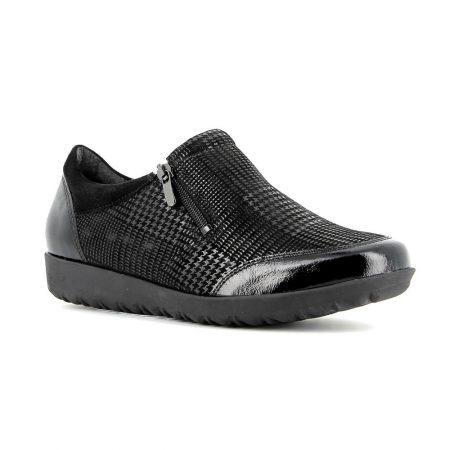 Alpina Vali Black Leather Trainers