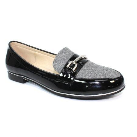 Lunar Antonella Grey Loafers
